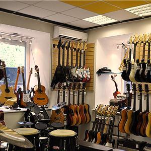 Музыкальные магазины Калтана